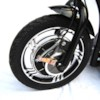 FYNDEX - Trehjulig scooter Trigger, 500W - Svart