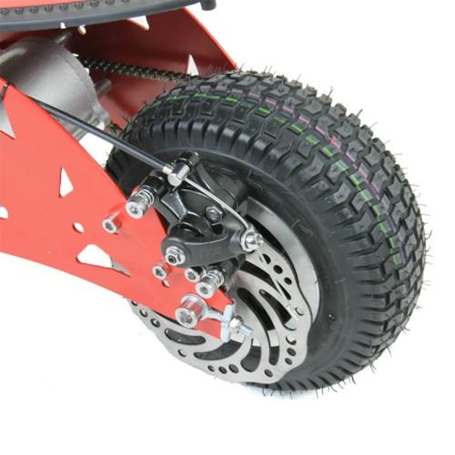 FYNDEX - 500 W EXTREME med sadel - Röd