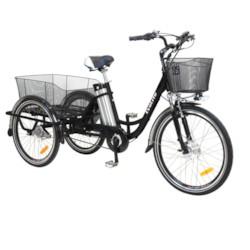 FYNDEX - Trehjulig Elcykel EvoBike Grande - Svart 250W