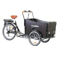 FYNDEX -Elcykel Lådcykel EvoBike Cargo 250W - Monterad