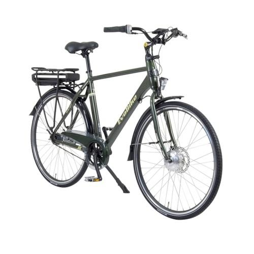 FYNDEX - Elcykel EvoBike ECO-7 250W - Olivgrön, herr