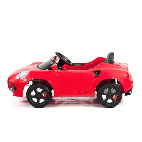 FYNDEX - Elbil Alfa Romeo 4C 12V - Röd