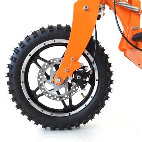 FYNDEX - Elscooter 1600W OFFROAD - Svart