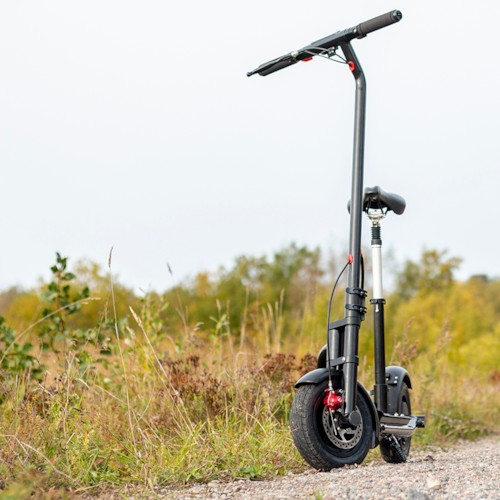 FYNDEX - Elscooter Nitrox 350W Lithium 5200Mah - Svart