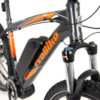 FYNDEX  - Elcykel EvoBike XRE-90 Mid-Drive - ANTRACIT/ORANGE