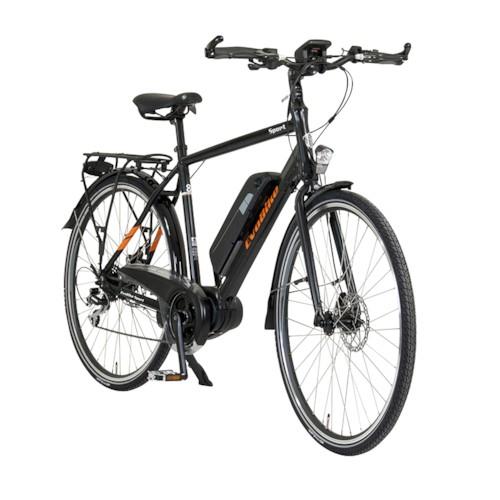 FYNDEX - Elcykel EvoBike SPORT-8 Mid-Drive 250W - 2019 - Mattsvart, herr