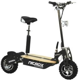 FYNDEX - Elscooter 2000W 60V Dirt - Svart