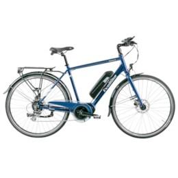 FYNDEX - Elcykel EvoBike SPORT-8 Mid-Drive 250W - 2019 - Midnattsblå, herr