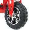 FYNDEX   - Elscooter 1000 W 48V Dirt med lysen - VIT
