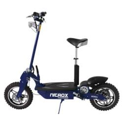 FYNDEX   - Elscooter 1600W OFFROAD - BLÅ