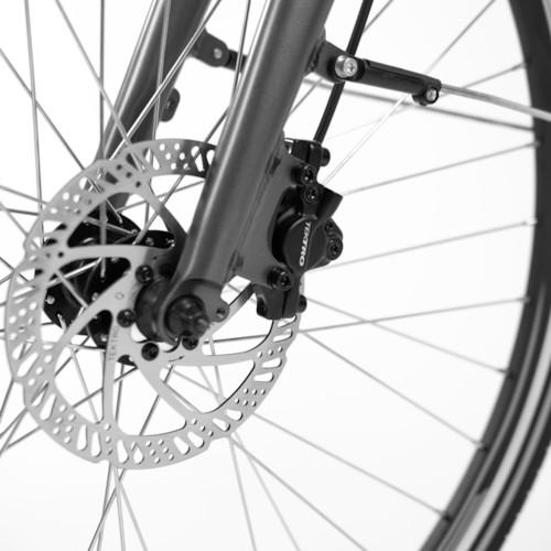 FYNDEX - Elcykel EvoBike SPORT-8 500W 2019 - Mattsvart, dam
