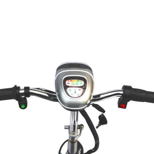 FYNDEX - Trehjulig scooter Trigger, 500W - Svart MONTERAD