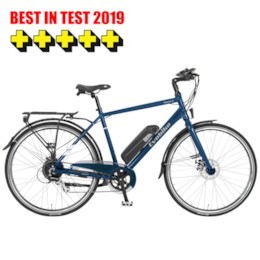 FYNDEX - Elcykel EvoBike SPORT-8 250W 2019 - Midnattsblå, herr