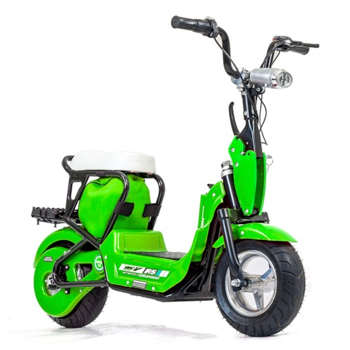 FYNDEX - Elscooter 350 W CHOPPER med lysen - Grön