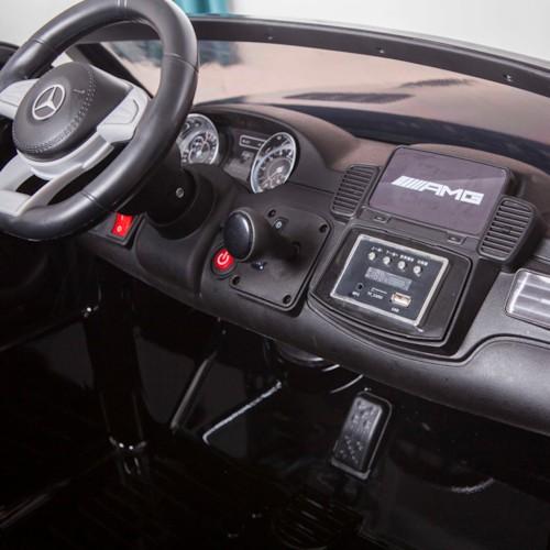 FYNDEX - Elbil Mercedes GLS 4MATIC 12V - Svart