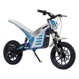 FYNDEX - Elektrisk Dirtbike Nitrox Trial 1000W med sits - Vit/blå