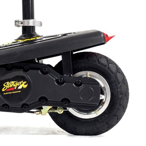 FYNDEX - Elscooter 250W EXTREME -Röd