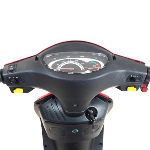 FYNDEX - Blimo Moto -Röd metallic