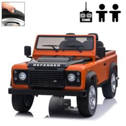 FYNDEX - Elbil Land Rover Defender - Orange