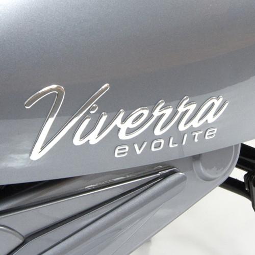 FYNDEX - Elmoped Evolite Viverra Classic 2000W - Grafitgrå