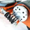 FYNDEX -  Elscooter 800 W Dirt med lysen - SVART