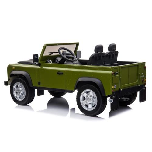FYNDEX -   Elbil Land Rover Defender - Grön