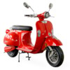 Elmoped Evolite Viverra Classic Plus 2000W - Röd