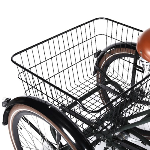 Trehjulig Elcykel Evobike Elegant 2019 - 24 tum 250W - Svart