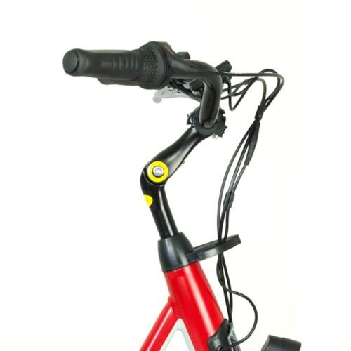 UTGÅTT - Elcykel EvoBike ECO-7 250W - VIT/BLÅ - dam