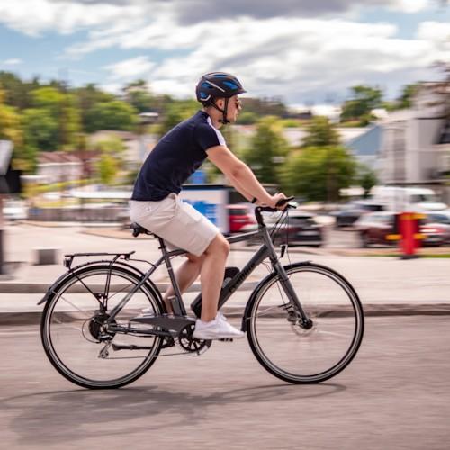 Elcykel EvoBike SPORT-8 500W 2019 - Daytonagrå, herr