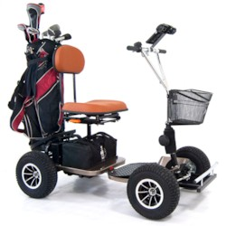 Golfscooter Blimo Caddie - Brons