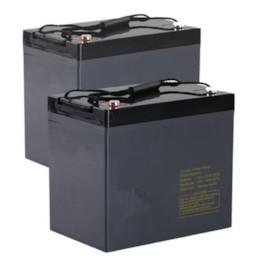 Batteriuppsättning 75Ah