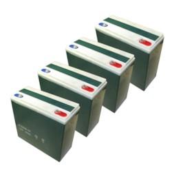 Batteriuppsättning 22Ah (48V)