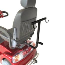 Rollatorhållare till promenadscooter