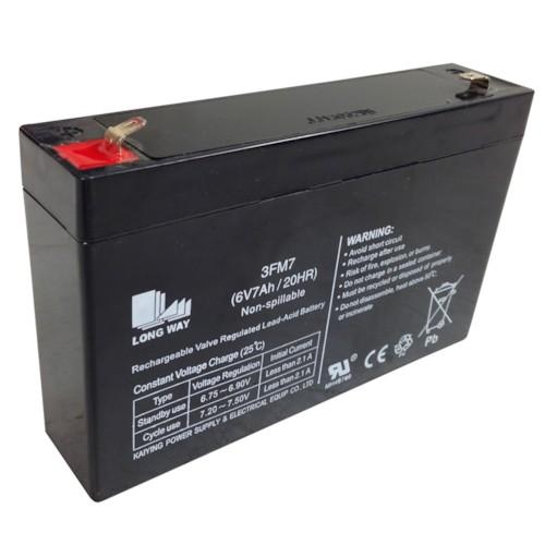 Batteri 6V 7Ah