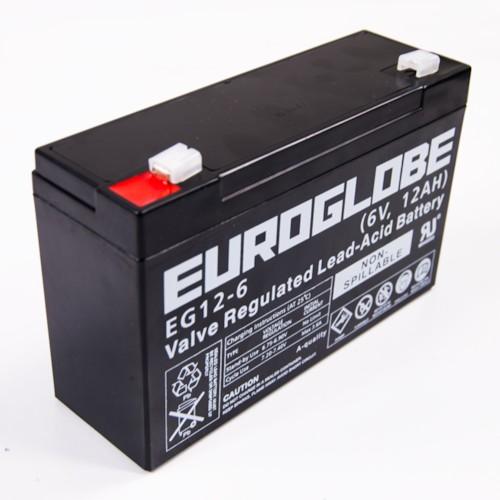 Batteri 6V 12Ah
