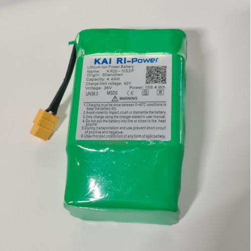 Litiumbatteri 36V 4,4Ah till Hoverboard Airboard