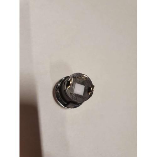 Huvudströmbrytare - Elbil, rund, silver Typ A