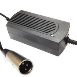 Laddare 24V 1,2A till elscooter med XLR-kontakt
