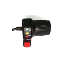 Gasreglage 36V Vridgas med batteriindikator