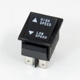 Knapp för high speed/low speed, elbil