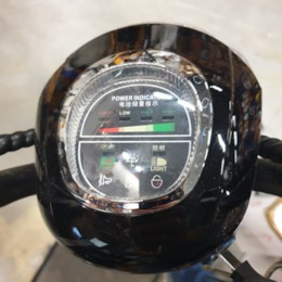 Display inkl. Tändningslås och Framlampa till Nitrox Fatbike Lithium