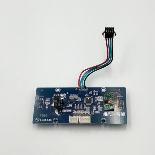 Kretskort till Airboard, fot-sensor VÄNSTER Blå