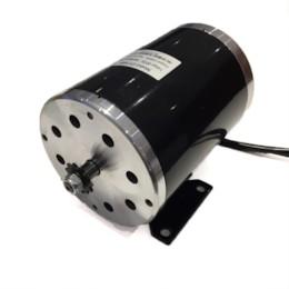 Elmotor 1000W 48V med fästplatta
