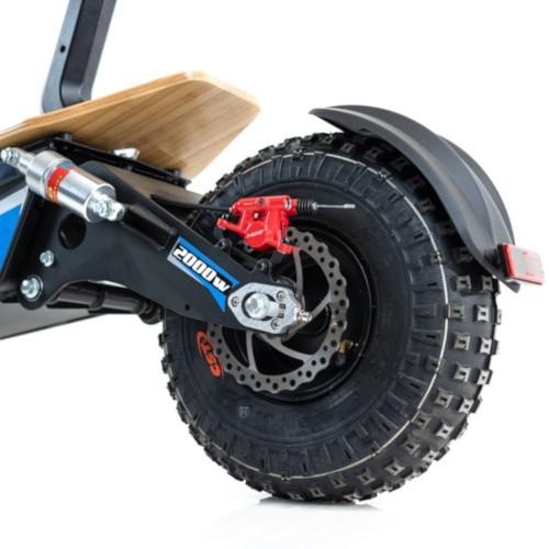 Bakhjul inkl. däck och slang till EV Ultra