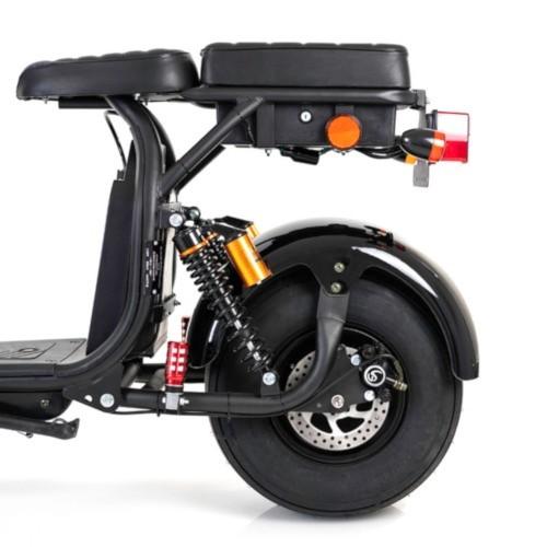 Bakhjul inkl. 1500W motor och däck till Fatbike Egreen