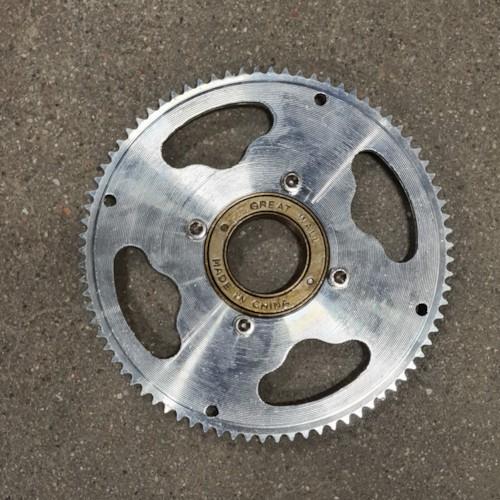 Frihjul med Drev till Dirtbike Trial 1000W