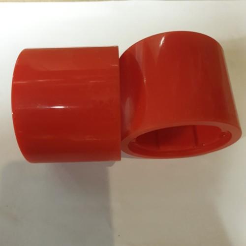 Däck till motorhjul till Nitrox Elskateboard 150W och Longboard 500W - Röd