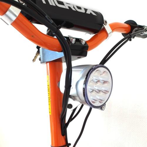 Framlampa till elscooter 2000W (60V)