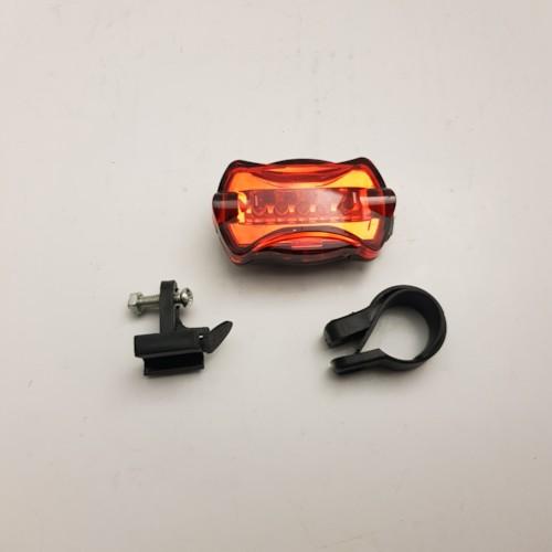Baklampa diod, för sadelstolpe